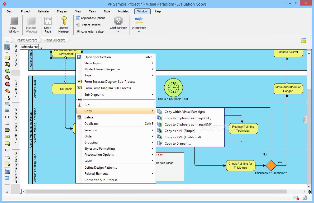 نسخه ی 15 نرم افزار Visual Paradigm منتشر شد ; Visual Paradigm 15.0