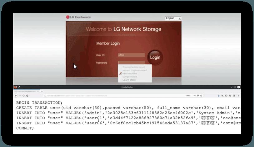 اعلام آسیبپذیری بحرانی RCE در دستگاههای ذخیرهسازی شبکه LG